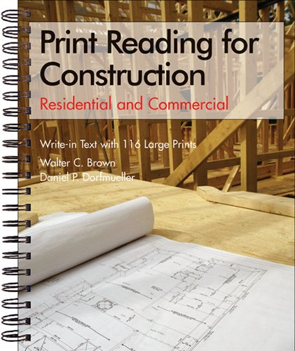 9781590703472: Print Reading for Construction: Residential and