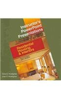 9781590703557: Residential Housing & Interiors Instructor's PowerPoint Presentations: Individual License