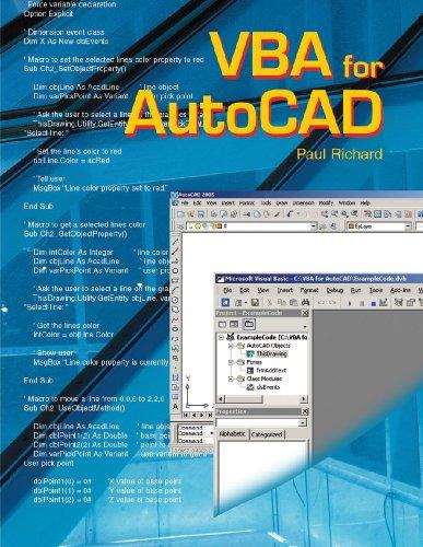 9781590704103: VBA For Autocad - AbeBooks - Paul Richard