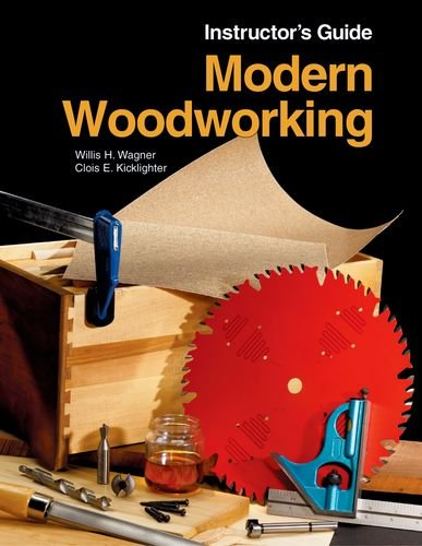 9781590704837: Modern Woodworking, Instructor's Guide