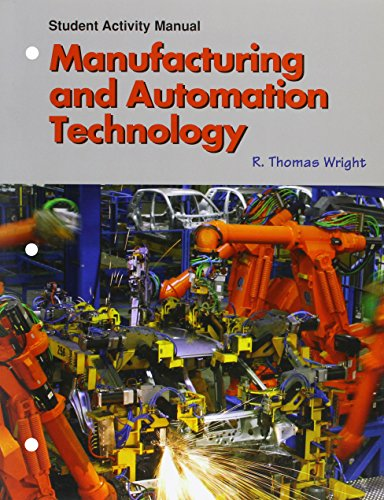 9781590704851: Manufacturing And Automation Technology Student Activity Manual
