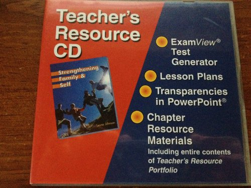 9781590705018: Strengthening Family and Self Teacher's Resource Cd With Examview