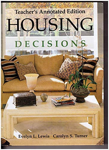 9781590705346: Housing Decisions Teacher's Annotated Edition