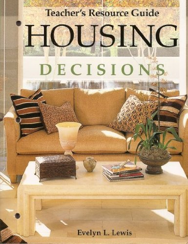 9781590705360: Housing Decisions Teacher's Resource Guide