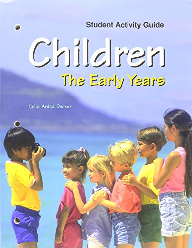 9781590705476: Children: The Early Years