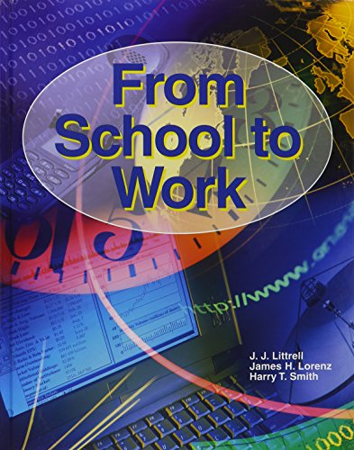9781590705599: From School To Work