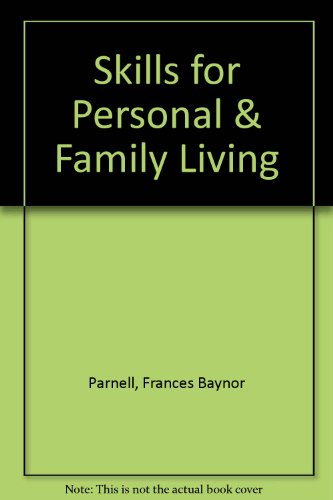 9781590705674: Skills for Personal & Family Living