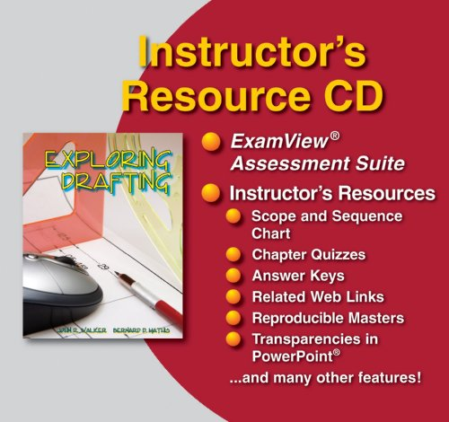 9781590705971: Exploring Drafting, Instructor's Resource CD