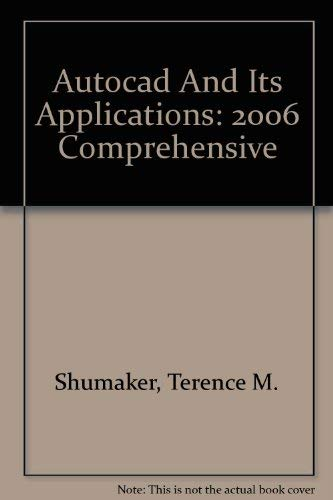 9781590706121: AutoCAD and Its Applications