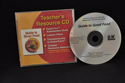 9781590706954: Guide to Good Food Teacher's Resource Cd With Examview