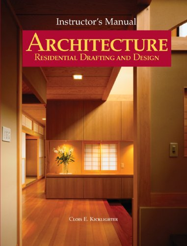 9781590707012: Architecture: Residential Drafting and Design, Instructor's Manual