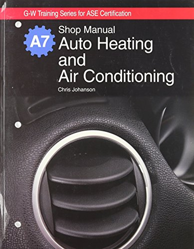 9781590707371: Auto Heating and Air Conditioning Natef Standards Job Sheets