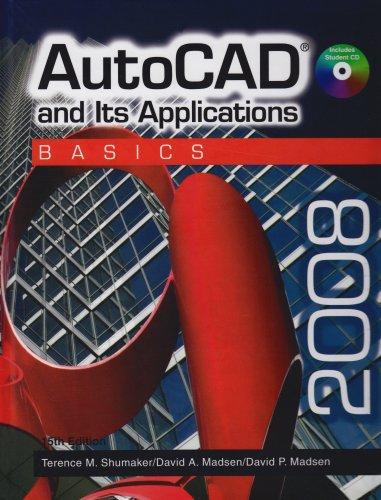 9781590708309: AutoCAD and Its Applications: Basics 2008