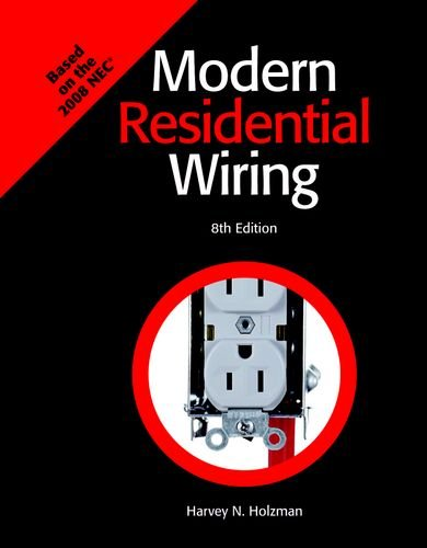 9781590708958: Modern Residential Wiring Textbook: Based on the 2008 NEC