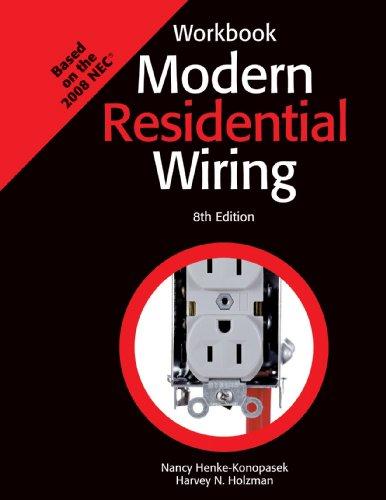 9781590708965: Modern Residential Wiring, Workbook