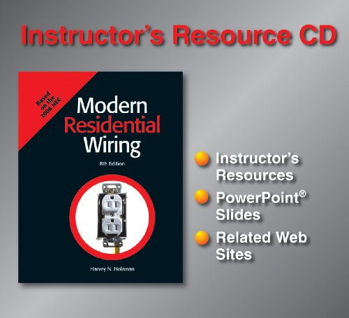 9781590708989: Modern Residential Wiring (Instructor's Resource CD)