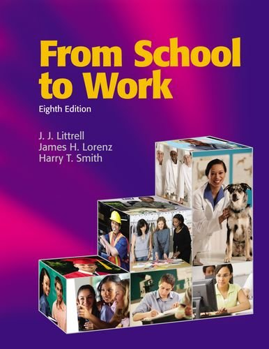 9781590709368: From School to Work