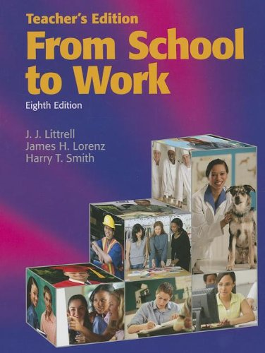 9781590709375: From School to Work, Teacher's Edition