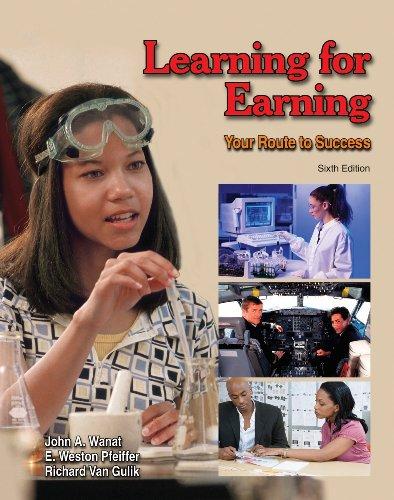 9781590709467: Learning for Earning