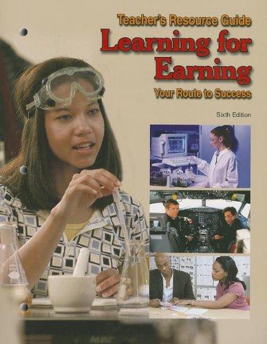 9781590709504: Learning for Earning Teacher's Resource Guide