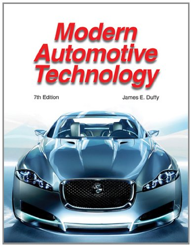 Modern Automotive Technology (159070956X) by James E. Duffy