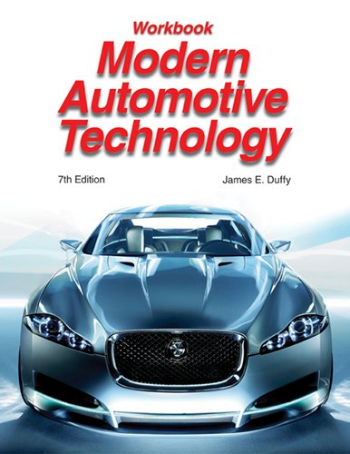 9781590709580: Modern Automotive Technology, Workbook