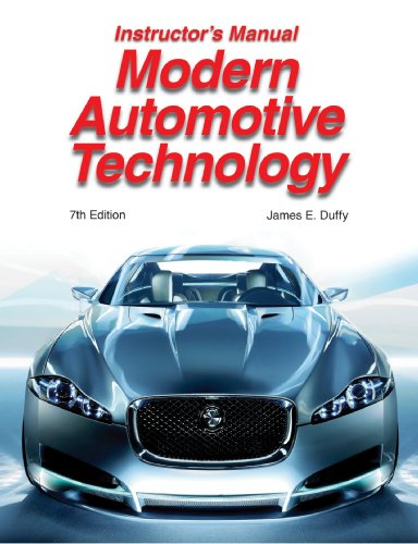 9781590709634: Modern Automotive Technology Instructor's Manual