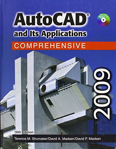 9781590709931: Autocad and Its Applications - Comprehensive 2009