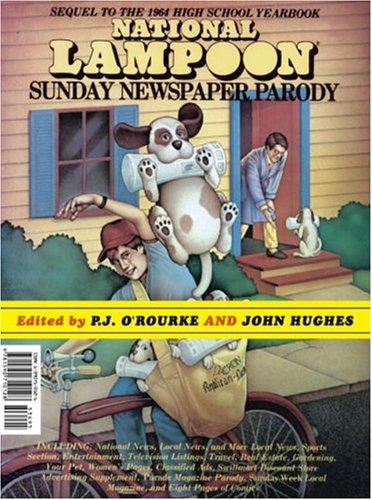 9781590710371: National Lampoon Sunday Newspaper Parody