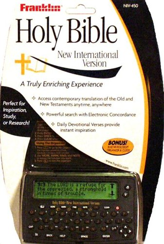 9781590740996: SW-NIV Electronic Holy Bible-Pocket Size