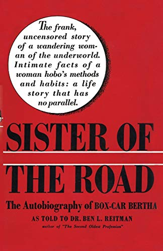 9781590774663: Sister of the Road: The Autobiography of Box-Car Bertha