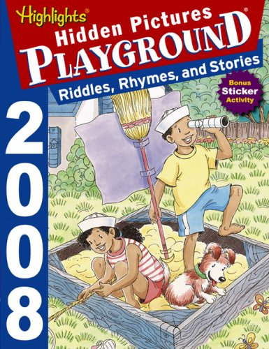 9781590785775: Hidden Pictures Playground: Riddles Rhymes
