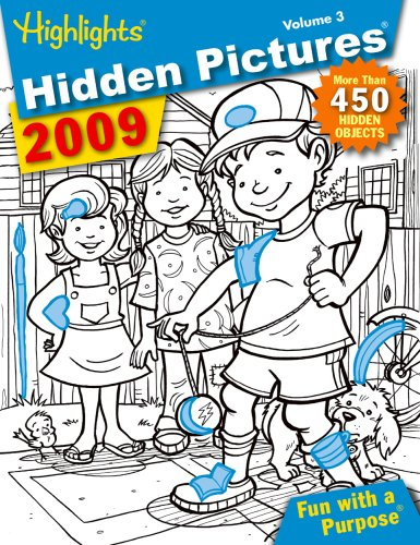 9781590786819: Hidden Pictures 2009, Vol. 3 (Highlights Series)
