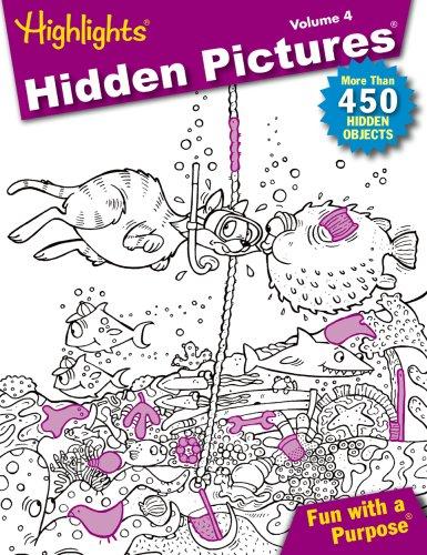9781590786826: Highlights, Hidden Pictures 2009, Volume 4