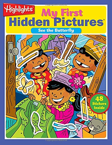 9781590788479: My First Hidden Pictures Volume 3: See the Butterfly