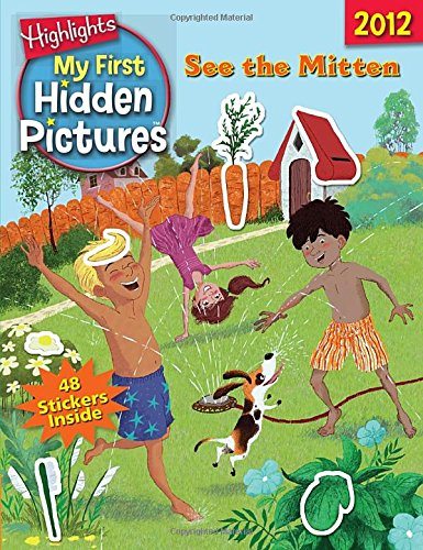 9781590788882: See the Mitten: My First Hidden Pictures 2012