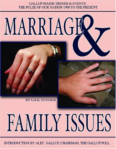 Marriage & Family Issues (Gallup Major Trends and Events): Snyder, Gail