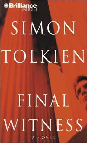 Final Witness (Nova Audio Books): Tolkien, Simon