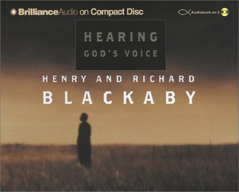 Hearing God's Voice (1590866894) by Henry Blackaby; Richard Blackaby