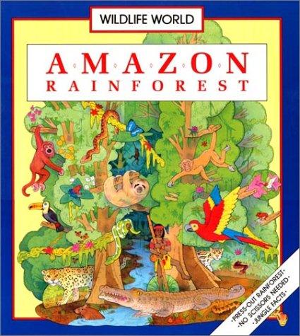 9781590930632: Amazon Rainforest/Includes Press-Out Rainforest