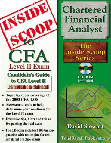 9781590959039: InsideScoop to Chartered Financial Analyst (CFA) Level II (With CD-ROM Exam)