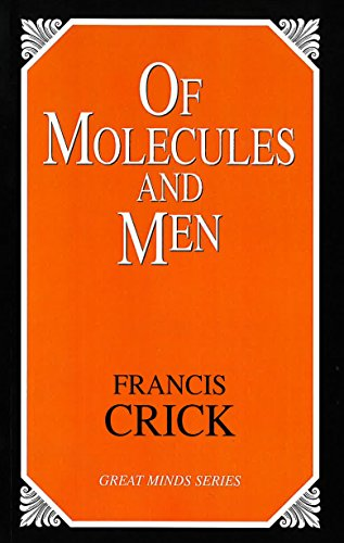 9781591021858: Of Molecules and Men (Great Minds Series)