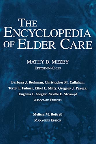9781591021896: The Encyclopedia of Elder Care