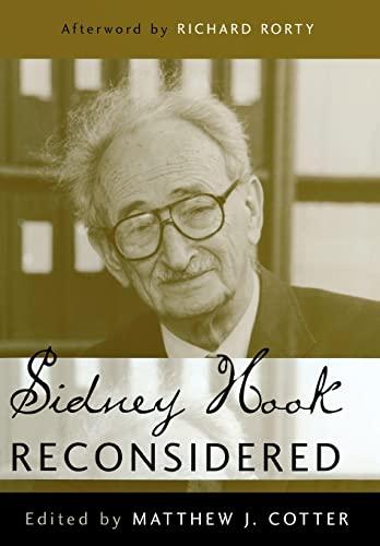 9781591021933: Sidney Hook Reconsidered
