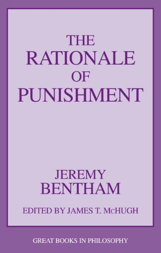 9781591026273: Rationale of Punishment (Great Books in Philosophy)