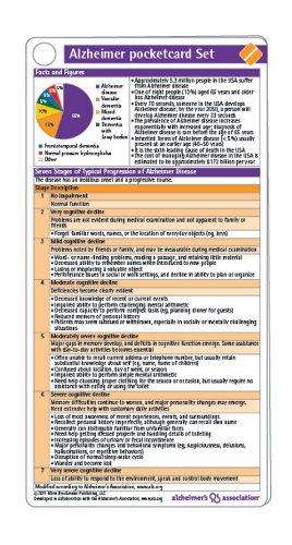 9781591030843: Alzheimer Pocketcard Set