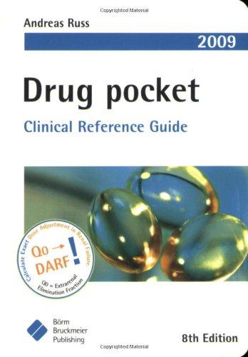9781591032540: Drug Pocket 2009: Clinical Reference Guide