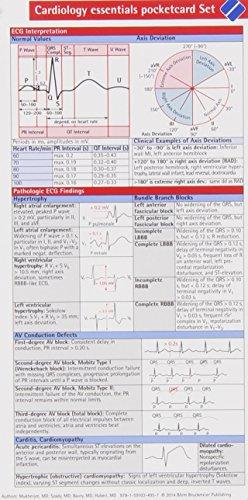 9781591034957: Cardiology Essentials Pocketcard Set