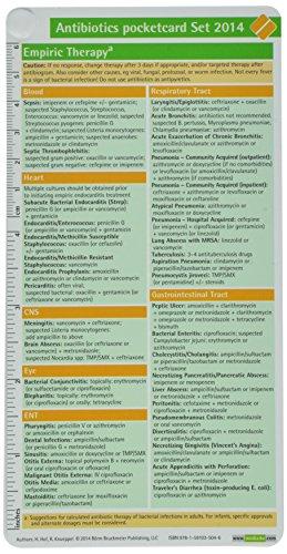 Antibiotics Pocketcard Set 2014: Hof, H., Knueppel, R.