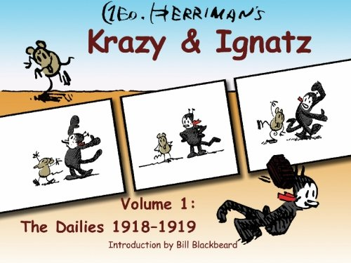 Krazy & Ignatz, The Dailies. Vol 1. 1918 -1919 (1591099757) by George Herriman